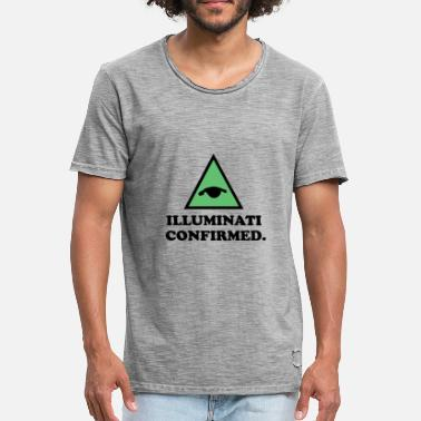 Confirmation Illuminati Confirmed. - Men's Vintage T-Shirt