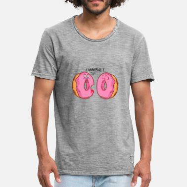 Cannibal CANNIBAL DONUT - T-shirt vintage Homme