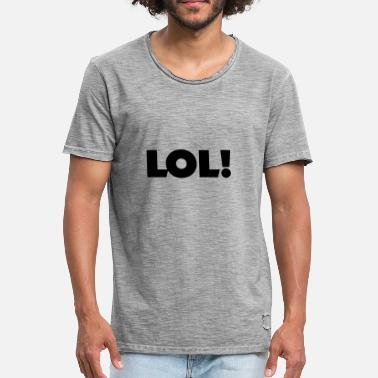 Lol lol - Men's Vintage T-Shirt