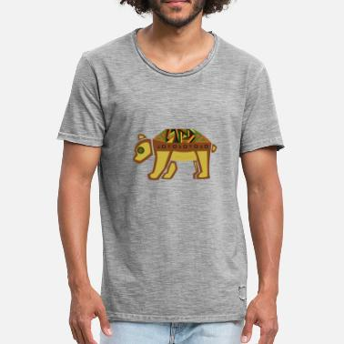 Astrology Bear bear - Men's Vintage T-Shirt