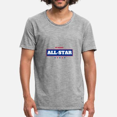 All Star ALL STAR - T-shirt vintage Homme