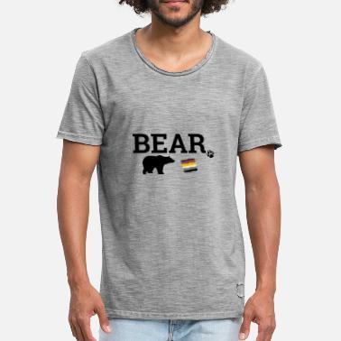 Bear Gay Gay Bear - Men's Vintage T-Shirt