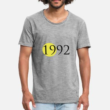 1992 1992 - Vintage-T-skjorte for menn