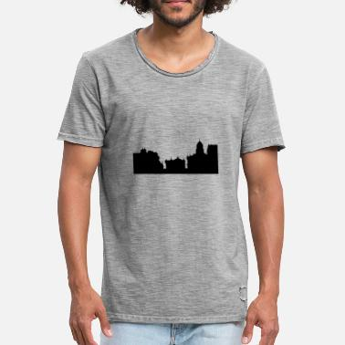 Oxford Skyline d'Oxford - T-shirt vintage Homme