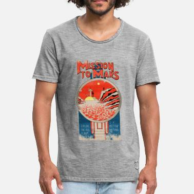 Vintage Collection Mars Vintage - Camiseta vintage hombre