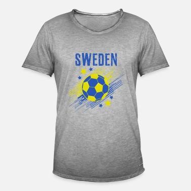 Sverige mästare fotboll fotboll skjorta gåva Premium T-shirt herr ... 3a76af1ad2496