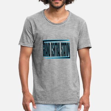 Station Grand Central Station - Vintage-T-shirt herr