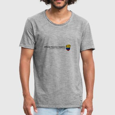 Vêtement Colombie Colombie Fan shirt Passion & Heart - T-shirt vintage Homme