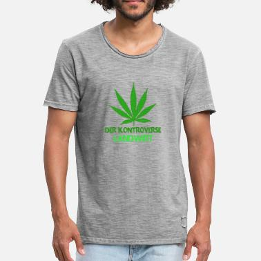 Controversial The controversial farmer cannabis cultivation - Men's Vintage T-Shirt