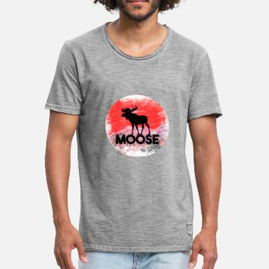 Moose Canada Moose mountains moose Canada - Men's Vintage T-Shirt