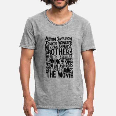 Step Brothers Elokuvan Rick_And_Morty - Miesten vintage t-paita