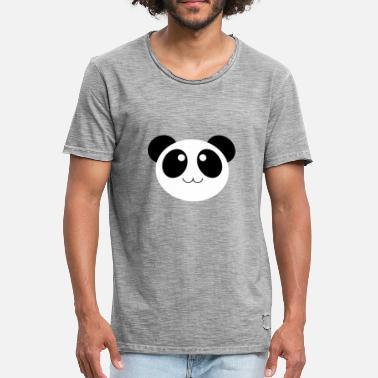 8a09fc5f2eb9aa Panda Kleidung Panda süß putzig Baby Geschenk Kleidung - Männer Vintage T- Shirt