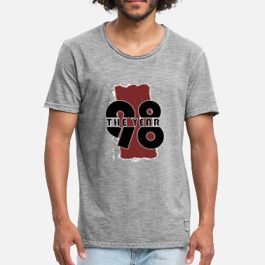 Geboren 98 98 The Year - Männer Vintage T-Shirt