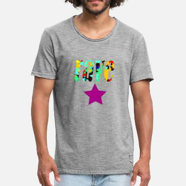 Rave rave star - Men's Vintage T-Shirt