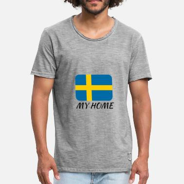 My Home MY HOME - Männer Vintage T-Shirt