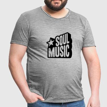 SOUL MUSIC STAR  - Men's Vintage T-Shirt