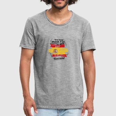 URLAUB Spanien espanol TRAVEL I M IN Spain Torrent - Männer Vintage T-Shirt