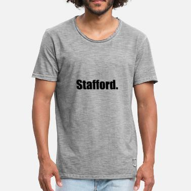 Stafford Stafford. - Men's Vintage T-Shirt