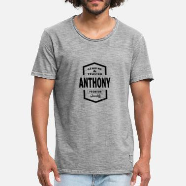 Anthony ANTHONY - Männer Vintage T-Shirt