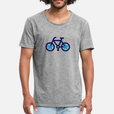 Bicycle Spoke bike Star - Men's Vintage T-Shirt