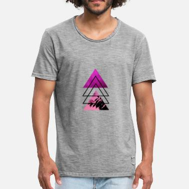 Pink Triangle Triangle Pink 2 - Men's Vintage T-Shirt
