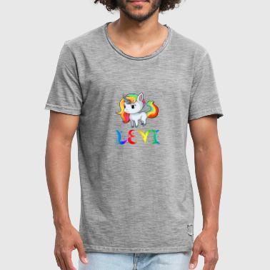 Levy Unicorn Levi - Men's Vintage T-Shirt