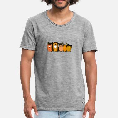 Forest Animal Animals of the forest Gift idea - Men's Vintage T-Shirt
