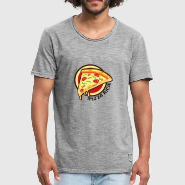 Pizza Rica - Vintage-T-shirt herr