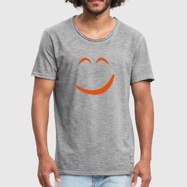 Smiley Stout Smiley headless - Mannen Vintage T-shirt