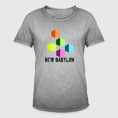 New Babylon - Mannen Vintage T-shirt