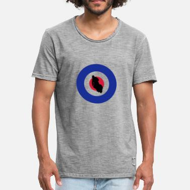 Scooter Driver Target Scooter Driver Racing - Men's Vintage T-Shirt