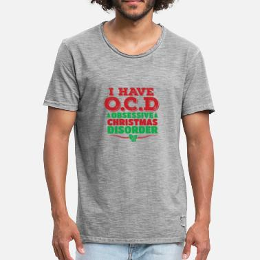 Morbid I have a morbid Christmas disorder - Men's Vintage T-Shirt