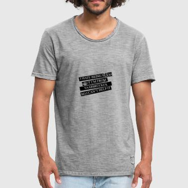 Motive for cities and countries - SAARBRÜCKEN - Men's Vintage T-Shirt