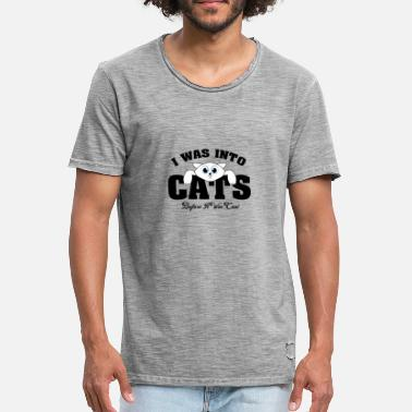 Before It Was Cool Cats before they were cool - Men's Vintage T-Shirt