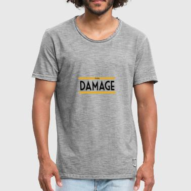 totAL DAMAGE - Männer Vintage T-Shirt