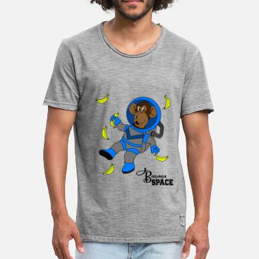 Joker Anime Banana Space with monkeys Gift idea for jokers - Men's Vintage T-Shirt