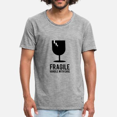 Fragile- Handle With Care Fragile handle with care - Männer Vintage T-Shirt