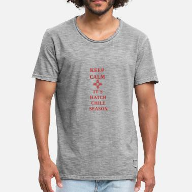 Fuck New World Order New Mexico with the Zia Symbol Keep Calm - Men's Vintage T-Shirt