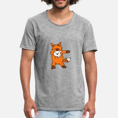 Peter Fox Dancing Fox - Männer Vintage T-Shirt