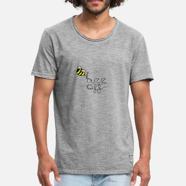 Gerningsmanden buzz off - Herre vintage T-shirt
