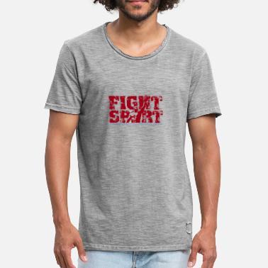 Spear SPEAR FIGHTSPORT - Herre vintage T-shirt