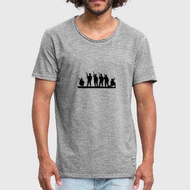 soldiers - Men's Vintage T-Shirt