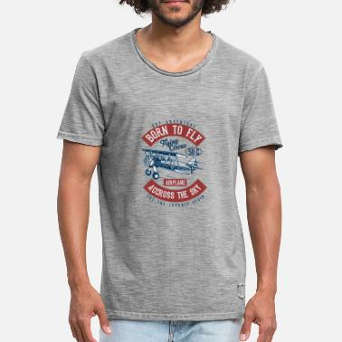 Shop Born Fly T Shirts Online Spreadshirt