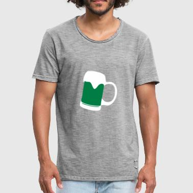 Irish Beer - Vintage-T-skjorte for menn