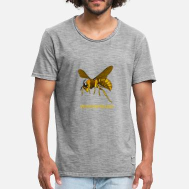 Wasp wasps friend - Men's Vintage T-Shirt