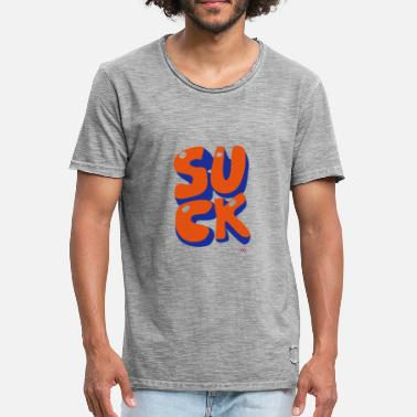 Sucks suck - T-shirt vintage Homme