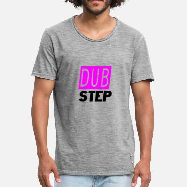 Step Dance dub step - Vintage-T-shirt herr