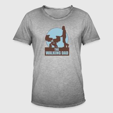 THE WALKING DAD - TWO - TWINNS - Männer Vintage T-Shirt