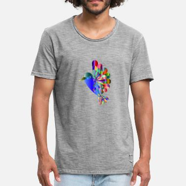 Hum humming-bird - Men's Vintage T-Shirt
