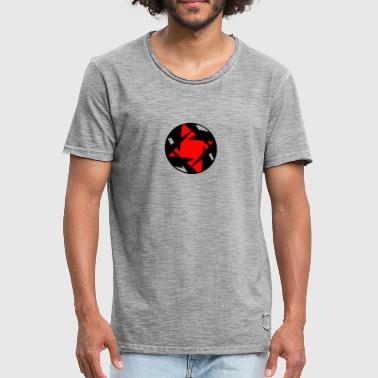 Heart of the Star - Vintage-T-skjorte for menn